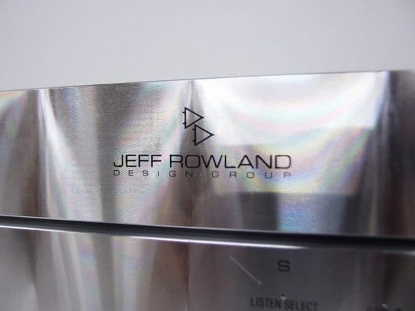 Jeff Rowland プリメインアンプ SYNERGY 2i