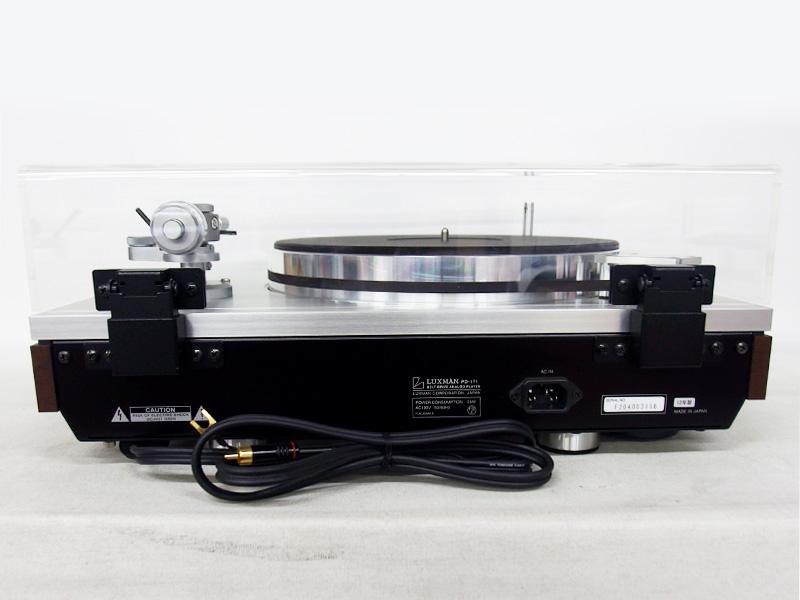 LUXMAN ターンテーブル PD-171