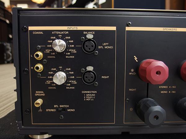 LUXMAN-パワーアンプ-M-8f