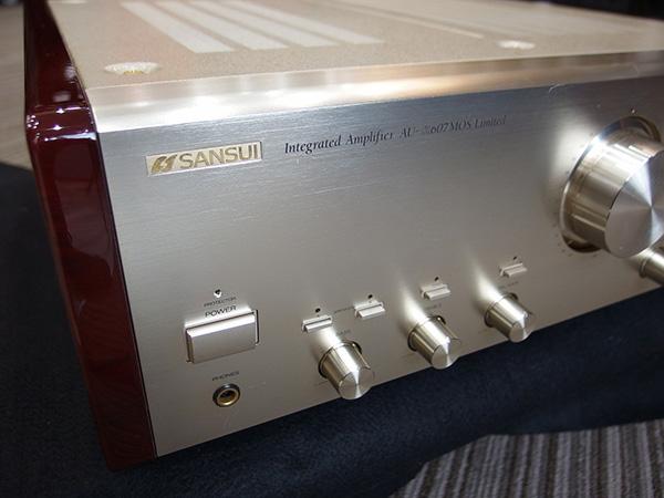 SANSUI-プリメインアンプ-AUα607 MOS Limited